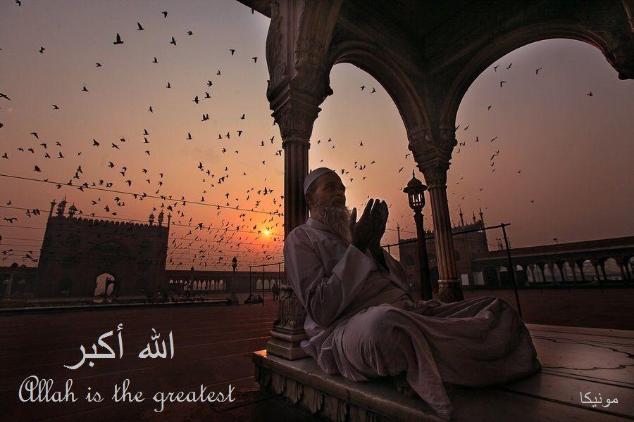Allah Is The Greatest Islam Islamic Art Zuhr Prayer