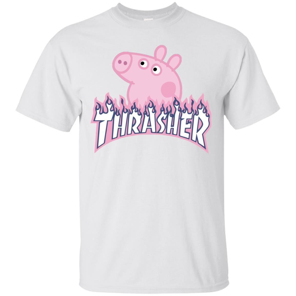 9c3c29a974d Thrasher Peppa Pig t-shirt
