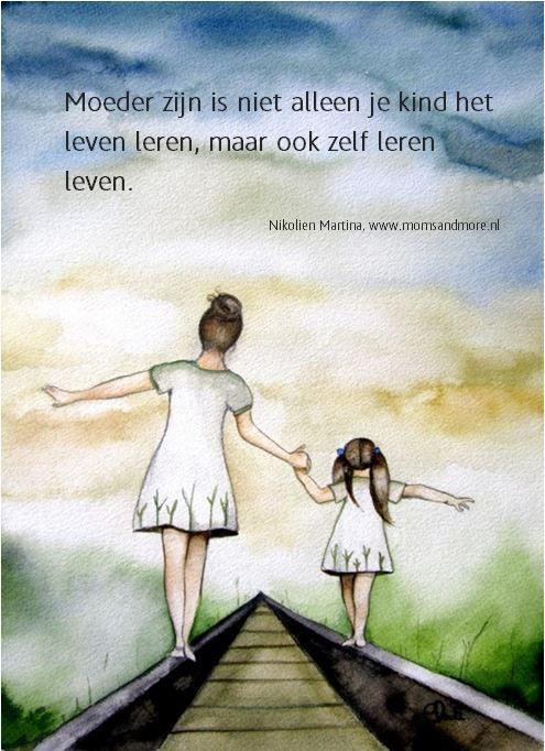 Top Moeder zijn is niet alleen je kind het leven leren, maar ook zelf  &VM64