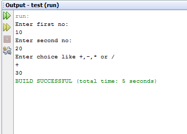 Simple Calculator Program in C, C# and JAVA | http://www