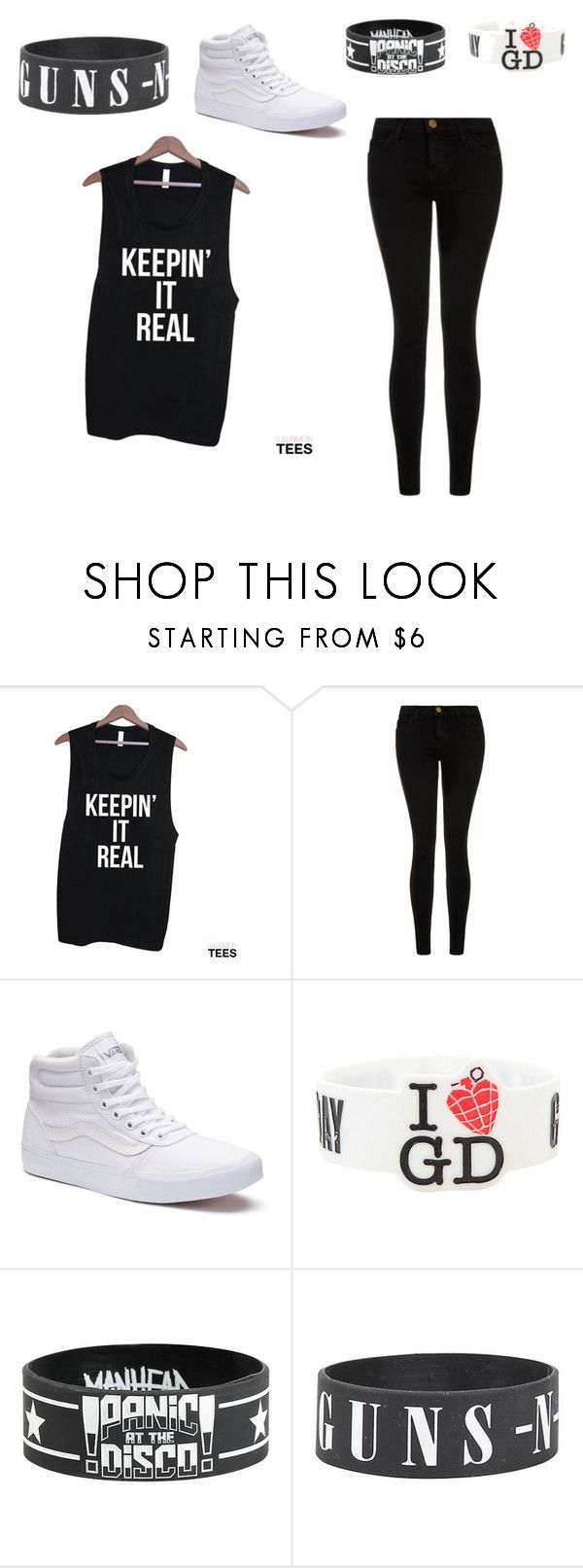 """""""All Simple"""" by okcaitlyn on Polyvore featuring Current/Elliott and Vans"""