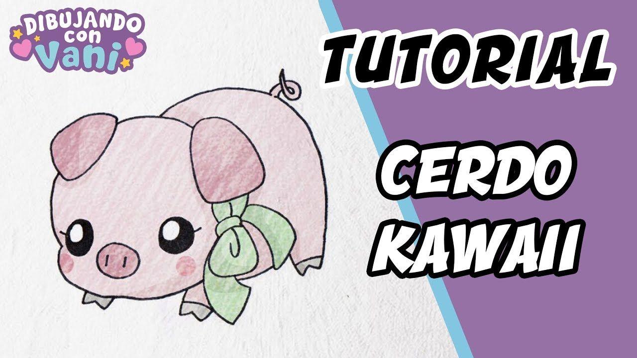 Como Dibujar Un Cerdo Kawaii Dibujos Faciles Paso A Paso Draw