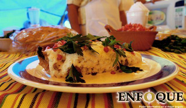 Chile en Nogada / Gastronomía / Puebla, México Foto: Alejandro Muñoz