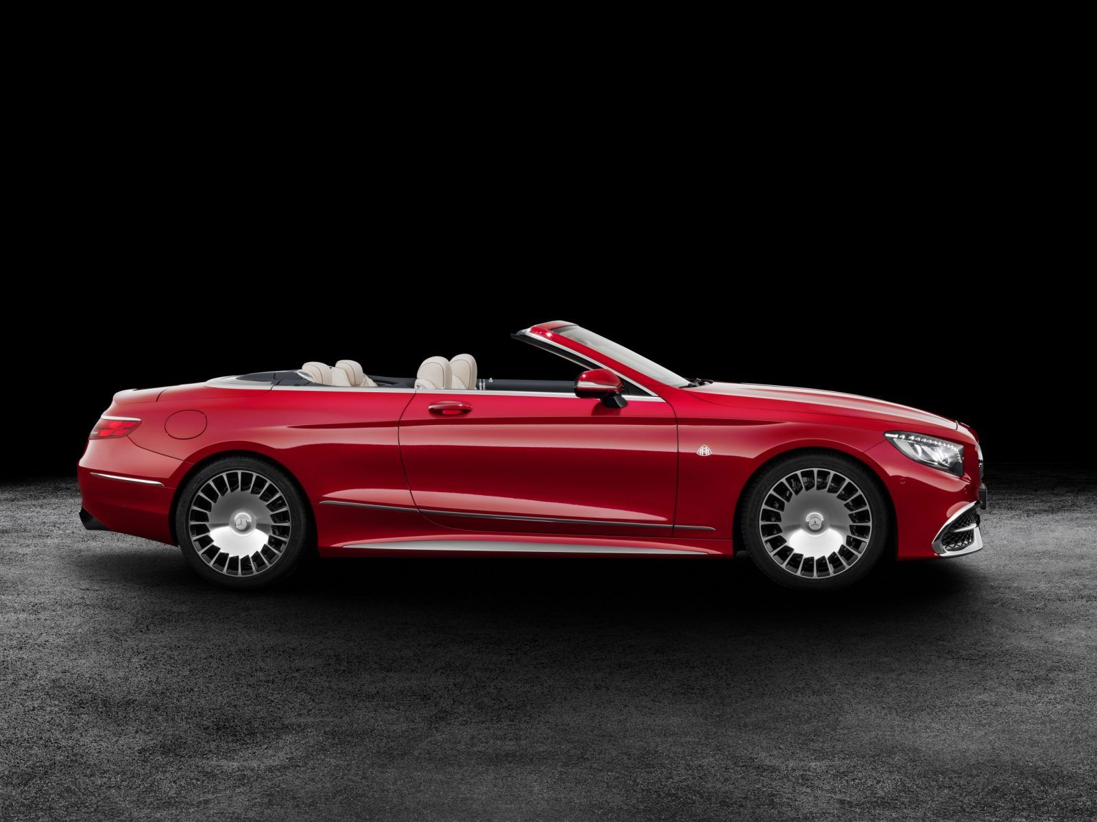Gangster Glam 2017 Mercedes Maybach S650 Cabriolet Car Revs