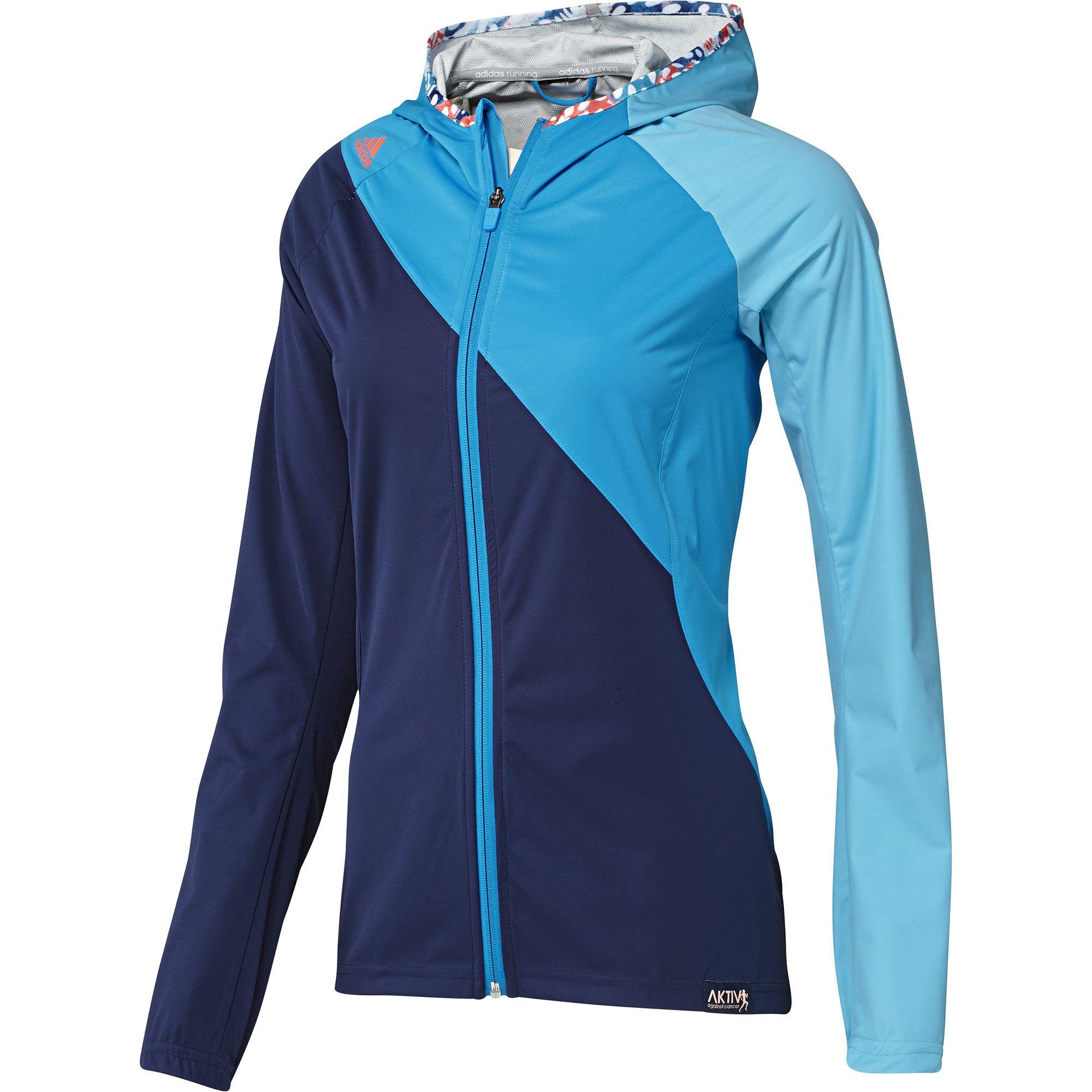 reputable site 3aa77 809d2 Diseñada para aguantar cualquier tipo de lluvia, esta chaqueta con capucha  de correr Aktiv para mujer está fabricada con tejido Climaproof® que te  mantiene ...