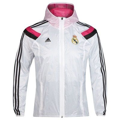 Real Madrid Chaqueta Anthem - Blanca  caecd2d6940aa