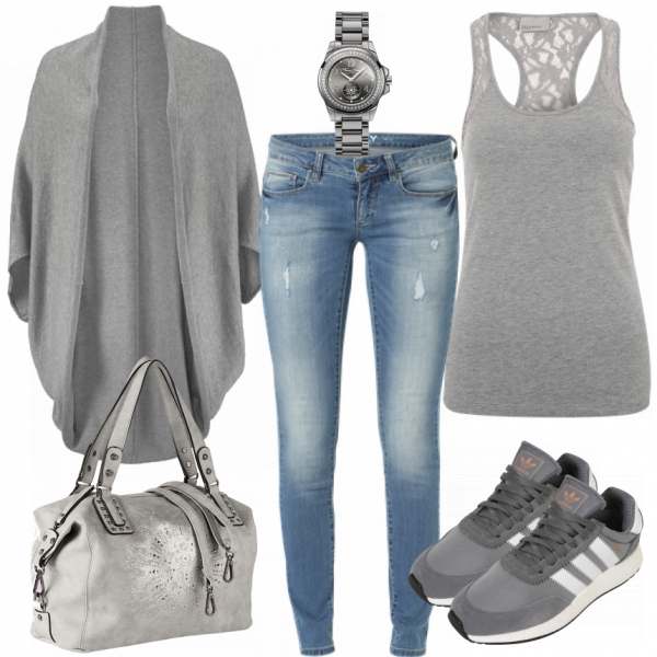 Stone Outfit  – Freizeit Outfits  bei FrauenOutfits.de