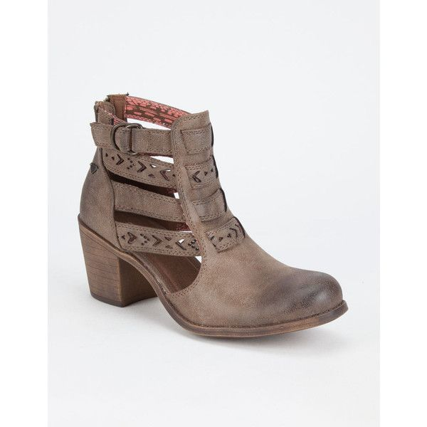 Roxy Lena Womens Booties ($84) ❤ liked on Polyvore featuring shoes, boots,