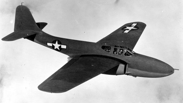 The First U S Jet Plane And A Gorilla Fighter Jets Aircraft Experimental Aircraft