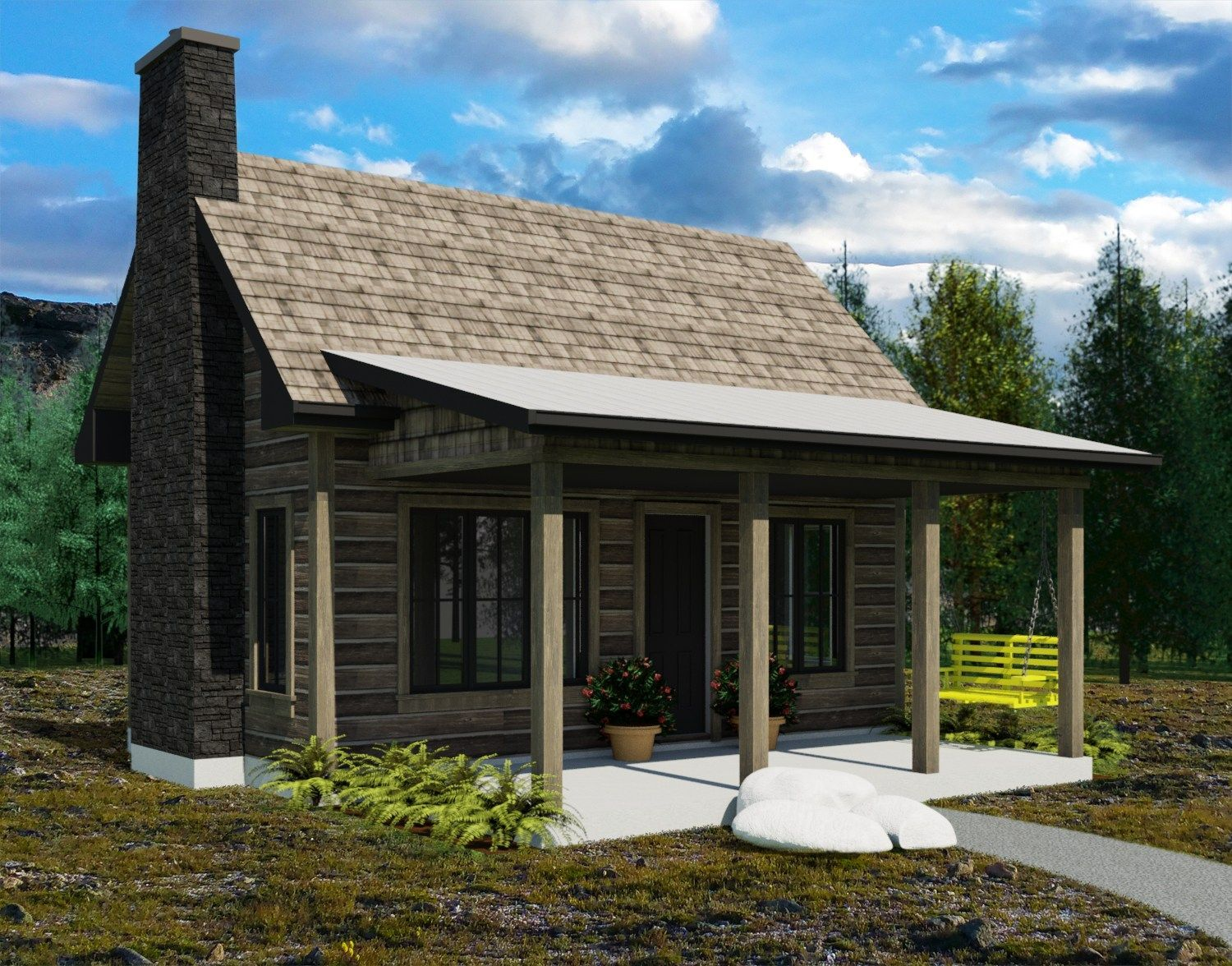 These are the Yukon Tiny House plans created by Robinson Residential ...