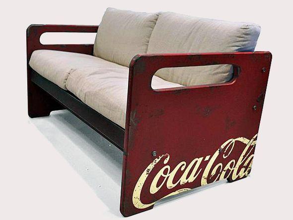 coca cola furniture | Coca-Cola ganha linha de móveis oficiais