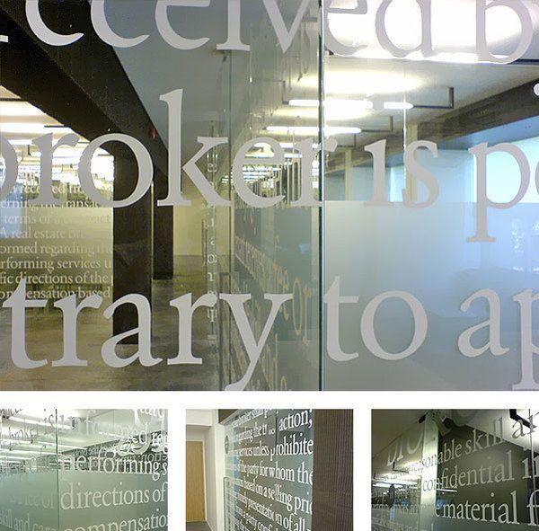 Interior Typography 3 by Fontan2 , via Behance