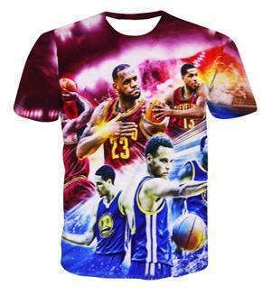 e70980ce896a53 Stephen Curry 30 Short Sleeve 3D T-Shirt  2