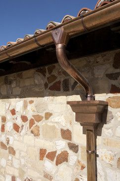 Kanab Villa Overview Southern Perspective Mediterranean Exterior Salt Lake City Habitations Residential D English Country Design Copper Gutters Gutters