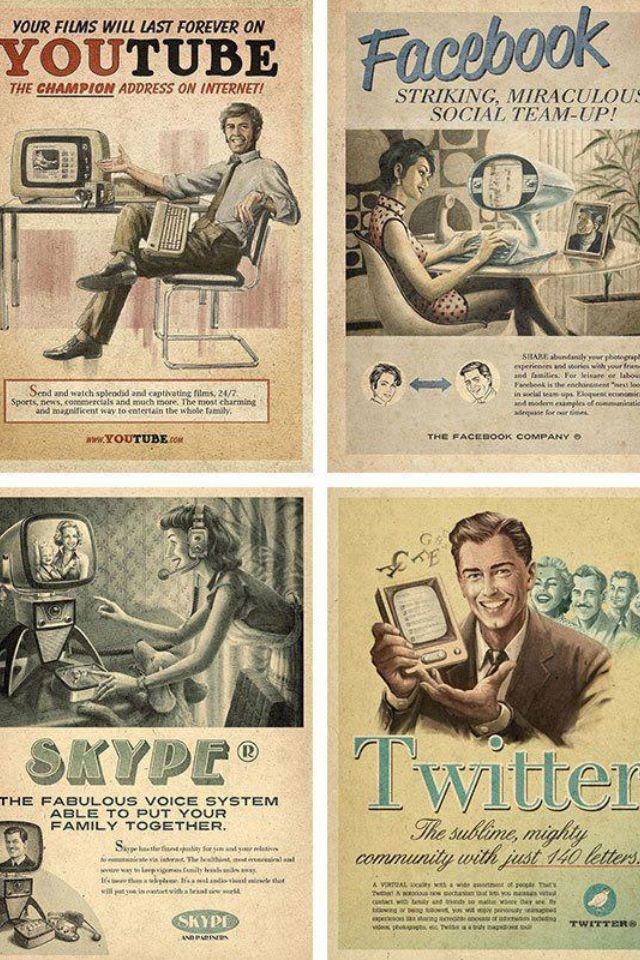 The '60s point of view of the internet