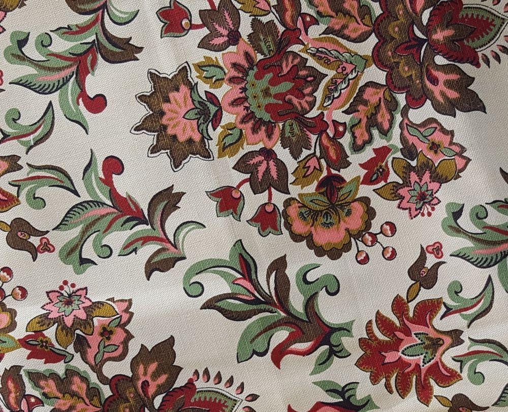Pin On Fabrics Vintage Modern