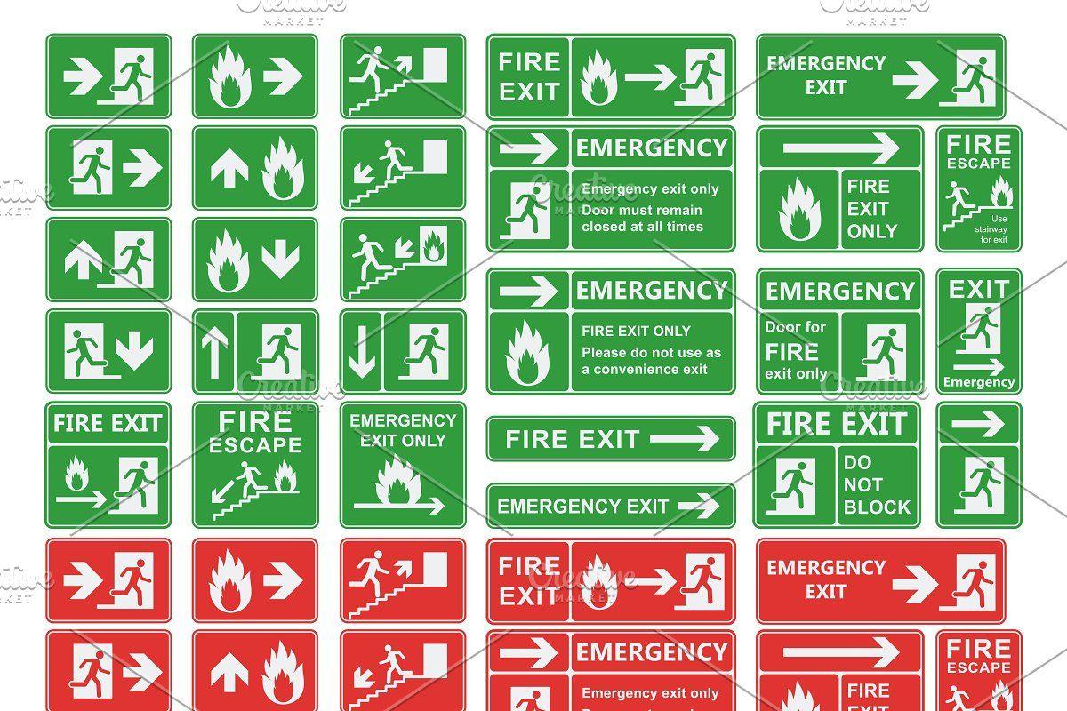 Fire Extinguisher Logo Vector