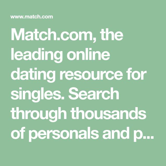 Match com login free search