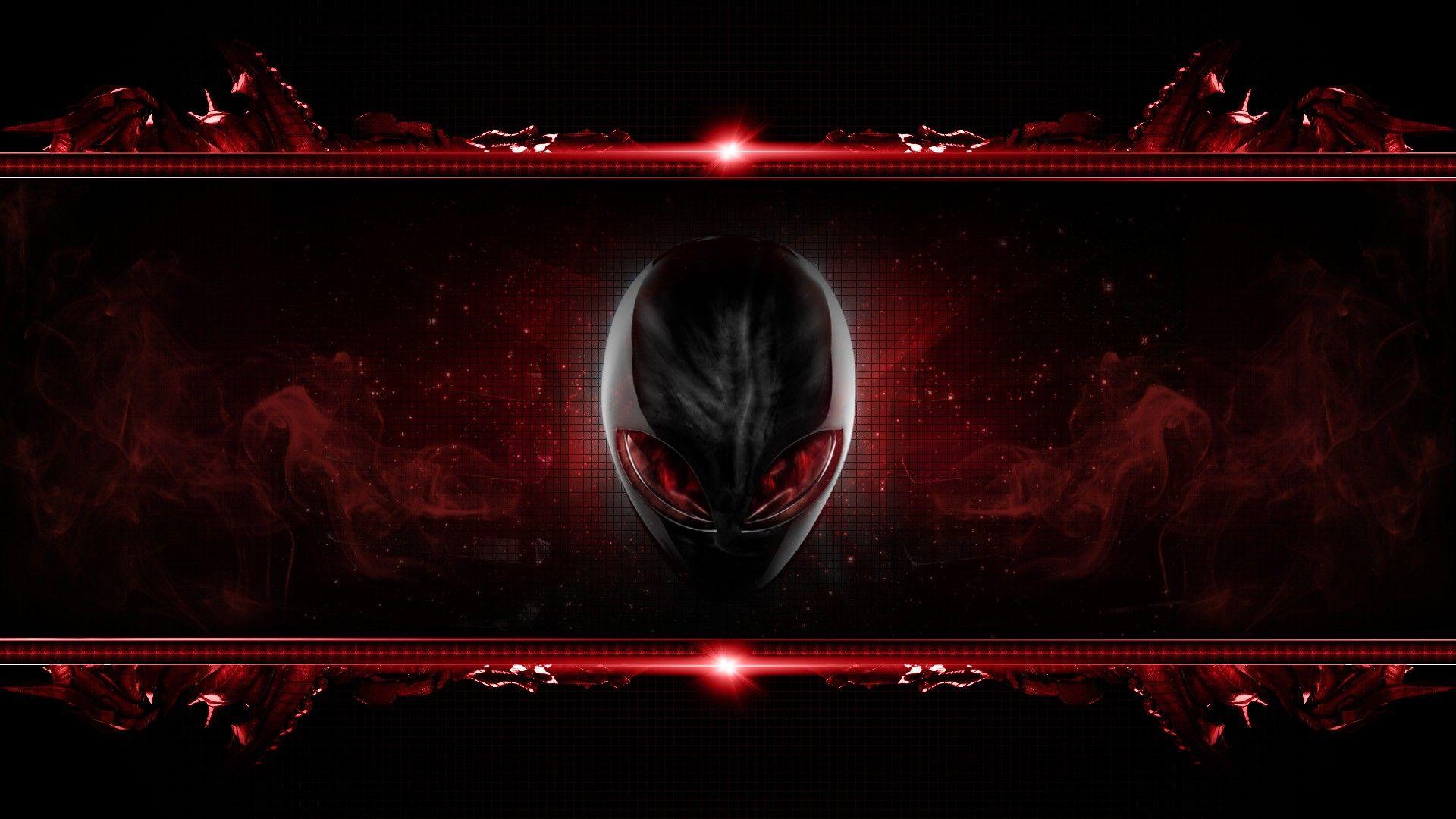 Alienware Desktop Background Red Alien Head Flames 1920x1200 Alienware Desktop Alienware Desktop Wallpaper