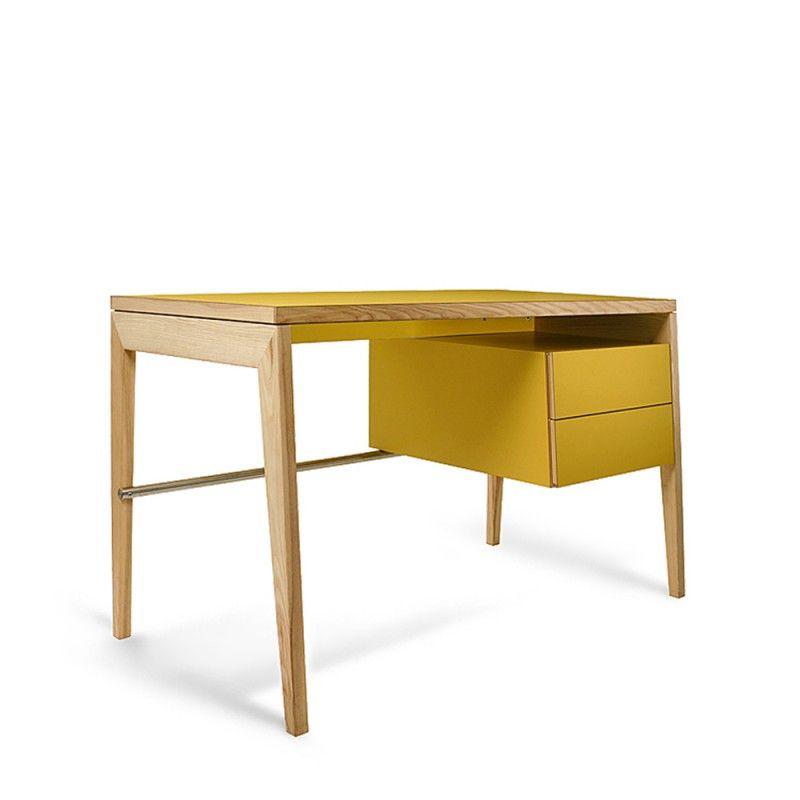 mint writing desk with storage m bel design k ln furniture wood pinterest. Black Bedroom Furniture Sets. Home Design Ideas