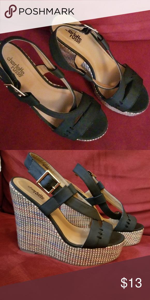 2ad5c1d7e9b9 Charlotte Russe wedge sandals Super cute