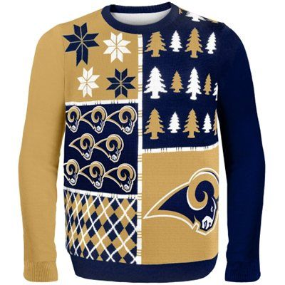 sports shoes fe8c8 63dac St. Louis Rams Busy Block Ugly Sweater- Cannot wait till it ...