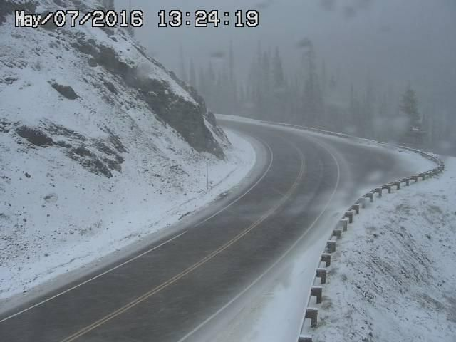 CO-14 1 15 mi W of Cameron Pass (LV) Road Conditions, Speeds
