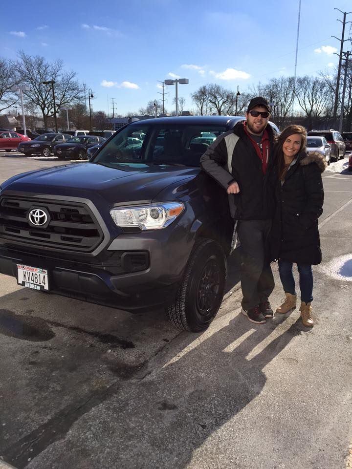 Congratulations on your brand new 2016 Tacoma Ryan and Megan!
