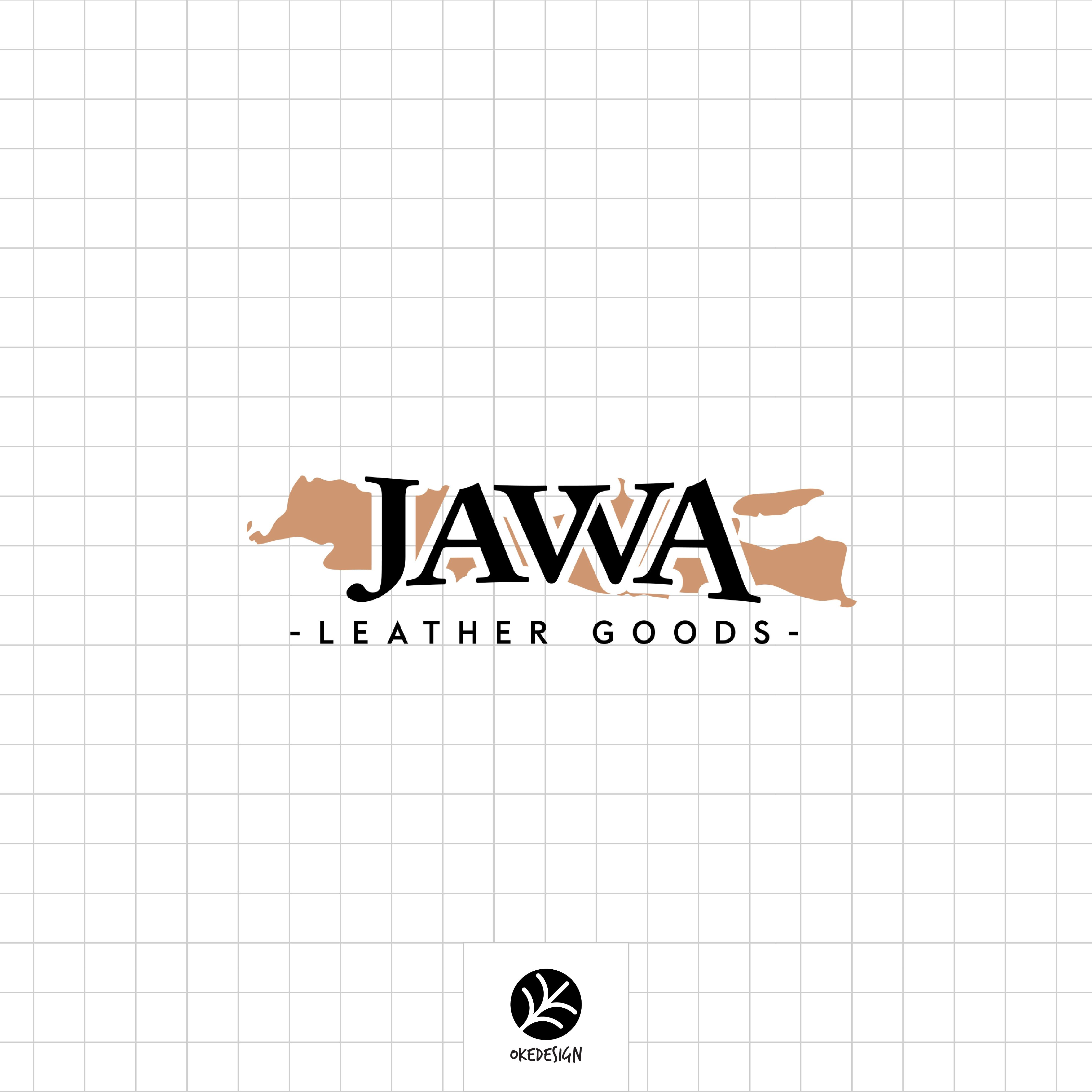avva Leather Goods logo by OkeDesign. Javva adalah brand
