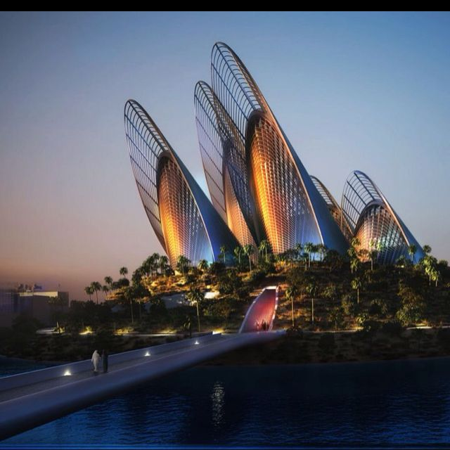 Abu Dhabi The Architect Is Norman Foster Architecture Cool