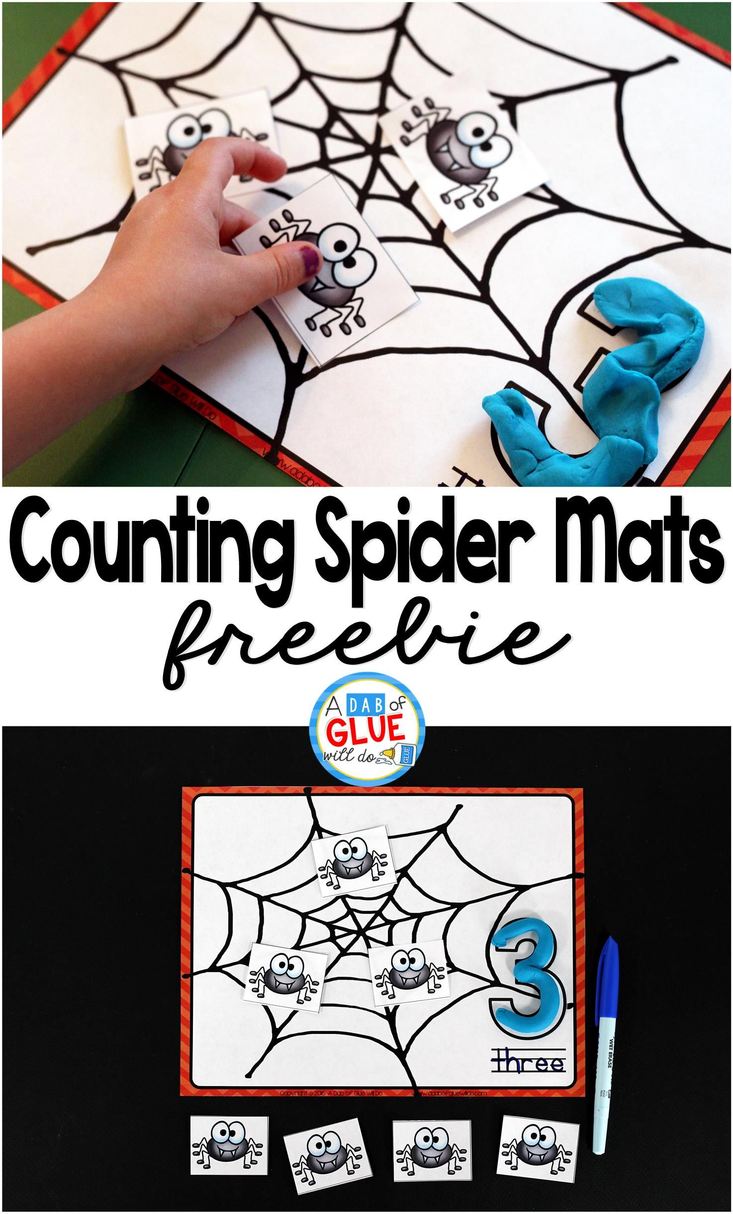 Spider Counting Mats With Images