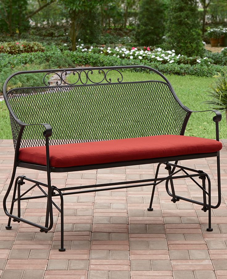d3eedbaa59ed1750ae25d05fb198bf1a - Better Homes And Gardens Clayton Court Outdoor Glider