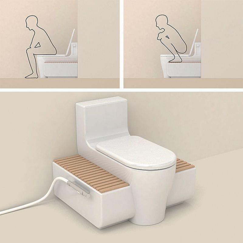 how to use wc toilet