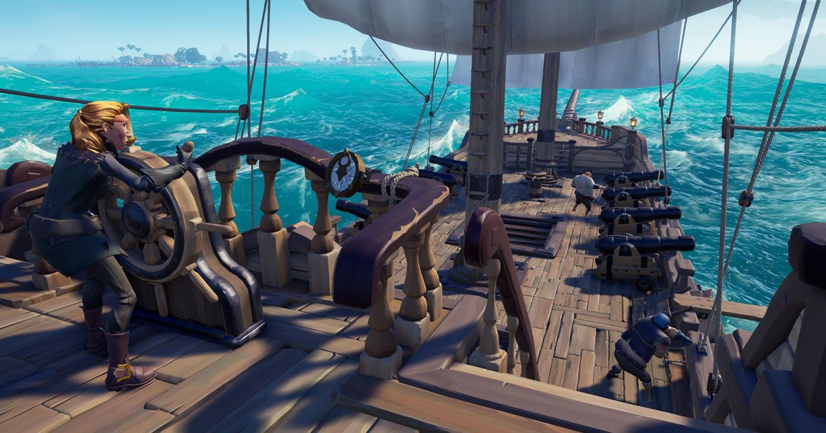 Sea Of Thieves Updates Will Focus On New Maps Not Perks Tech