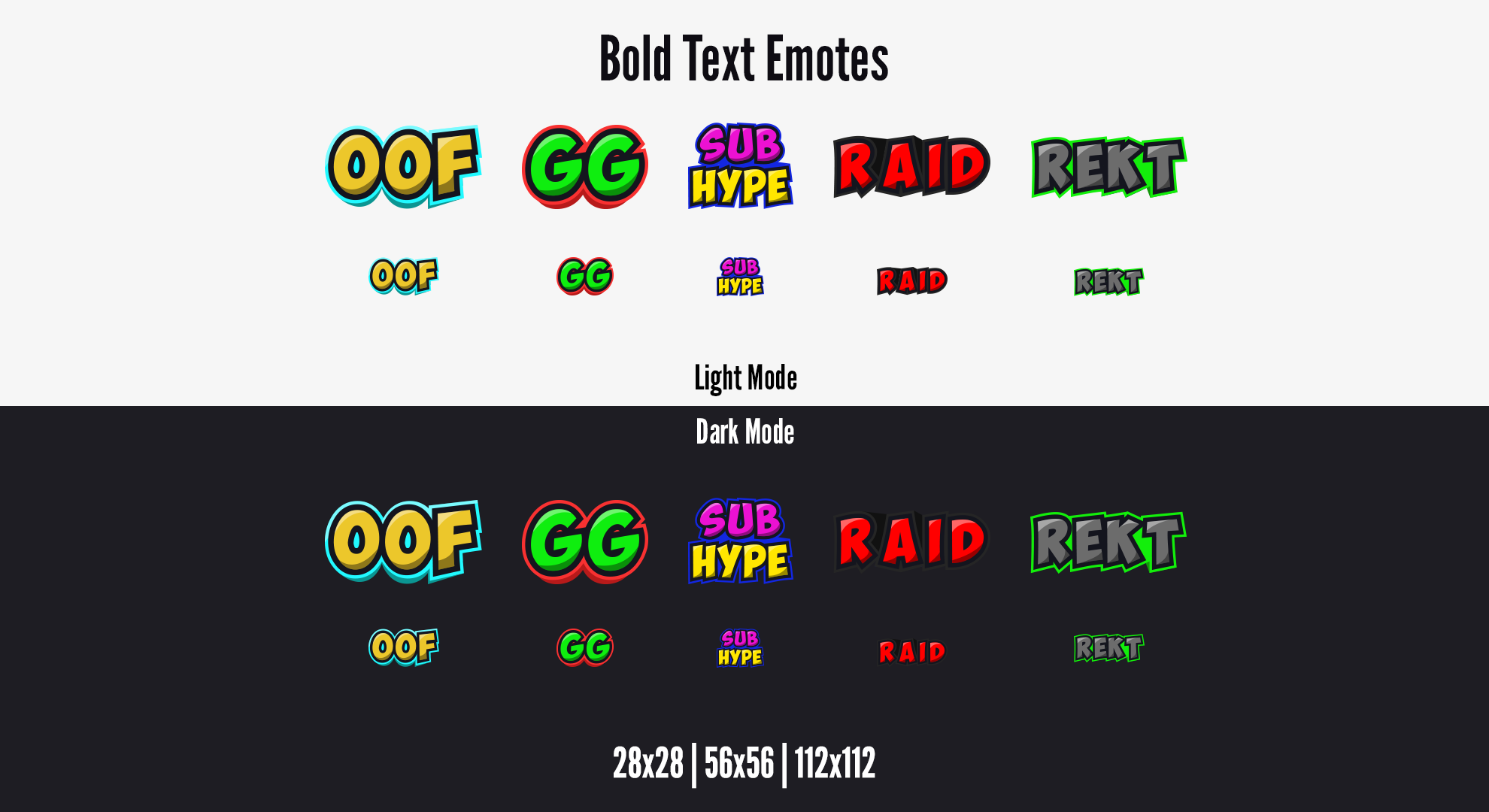 Twitch Emotes Bold Text Text Emotes Twitch Streaming Setup Twitch