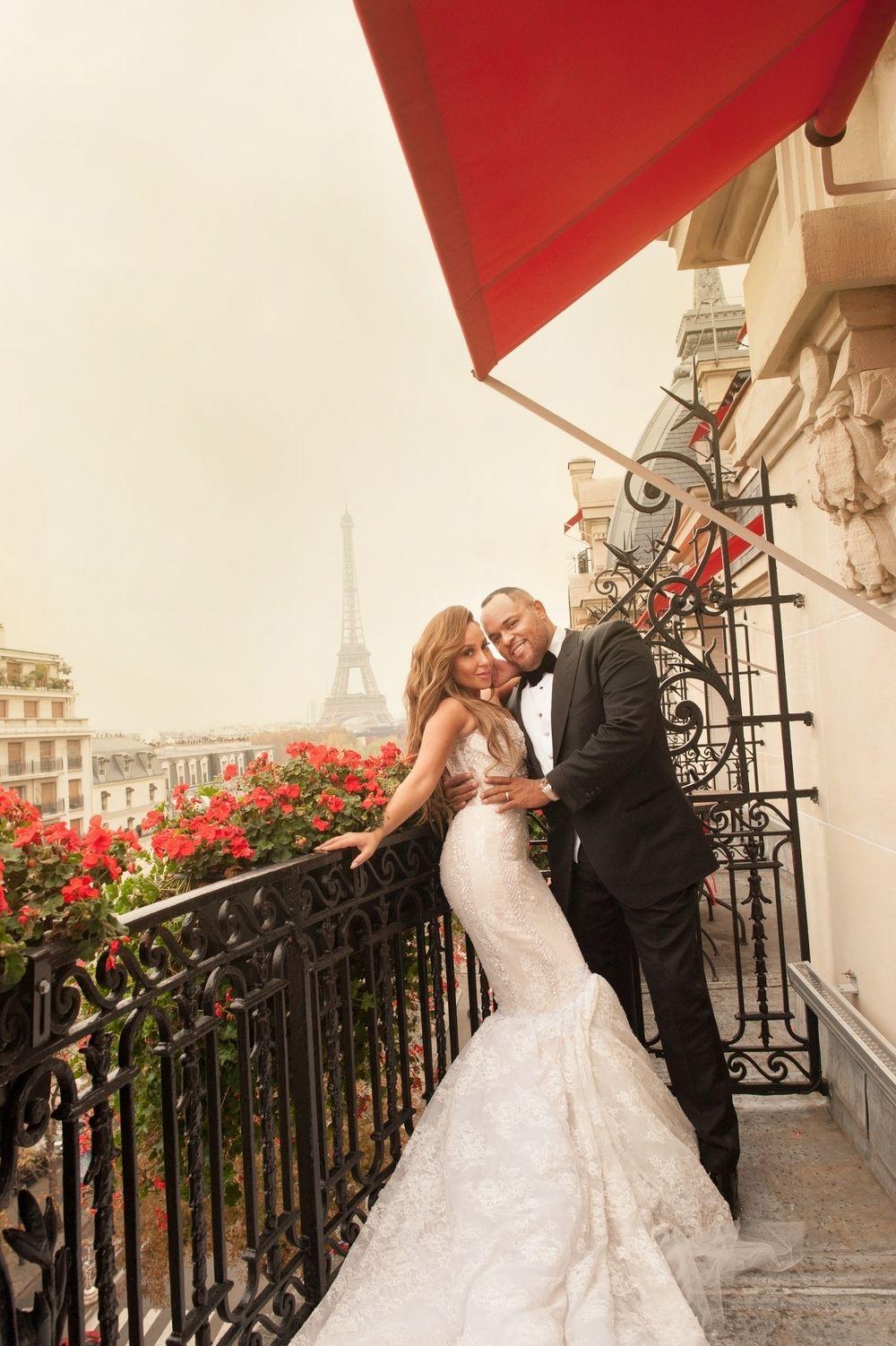 4010711d42f Adrienne Bailon s celeb wedding  Adrienne Bailon s Paris Wedding Photos