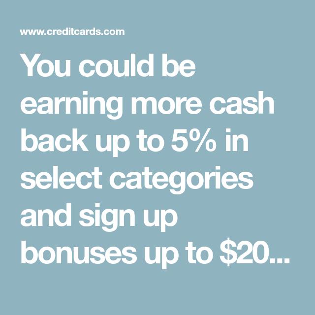 Cashback Credit Cards 5 For 3 Months: Best Cash Back Credit Cards Of 2019: Top Offers