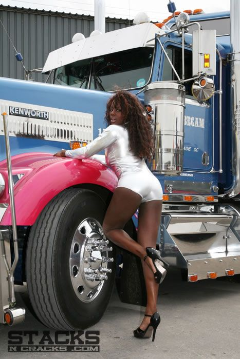 Trucker Girl Wallpaper Pin By Gerry Carpenter On Stacks Quot N Quot Cracks Trucks