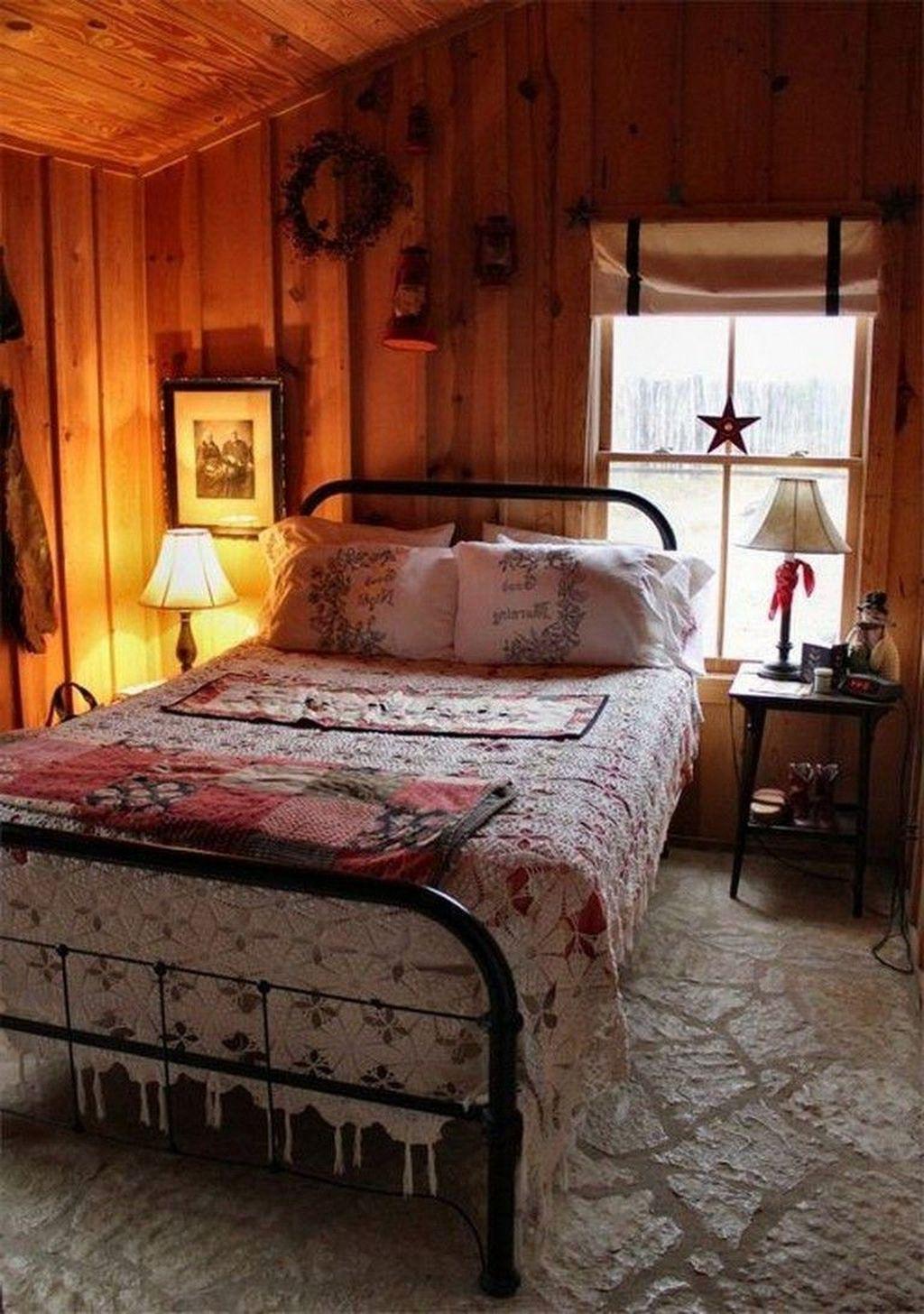 45 Perfect Winter Bedroom Decoration Ideas Cozy Cabin Bedrooms