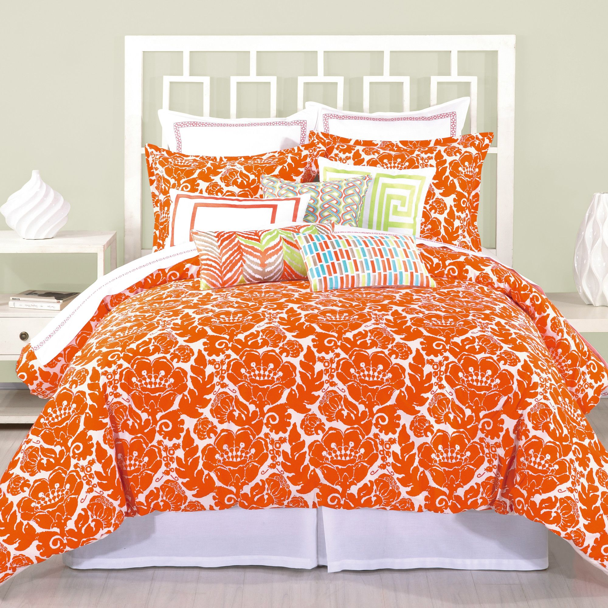 coral navy comforter large full duvet orange bedding ikat in cover designs and blue damask king set sets deny