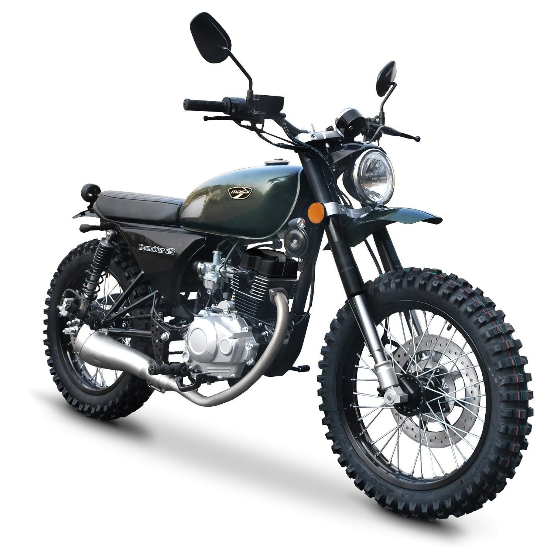masai 125 scrambler marcin ab cki pinterest scrambler motorcycle i motorbikes. Black Bedroom Furniture Sets. Home Design Ideas