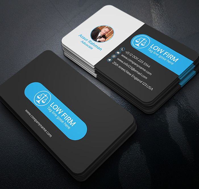 Free lawyer black business card business cards pinterest black free lawyer black business card cheaphphosting Gallery