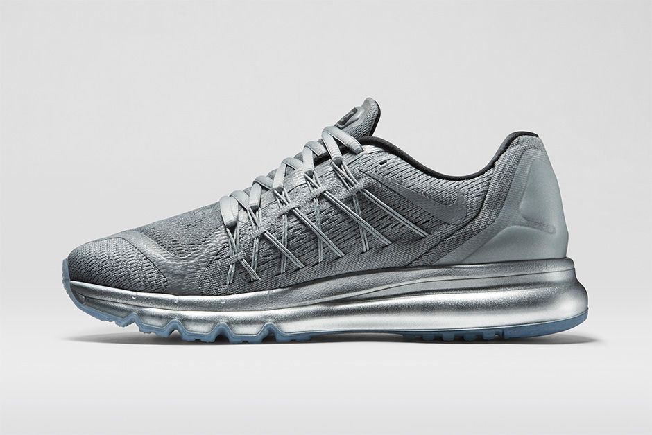 finest selection fc7fb d6207  Nike  AirMax 2015  Reflective - This sneaker features a fully reflective  silver treatment on the upper, from the Engineered Mesh to the taped seams