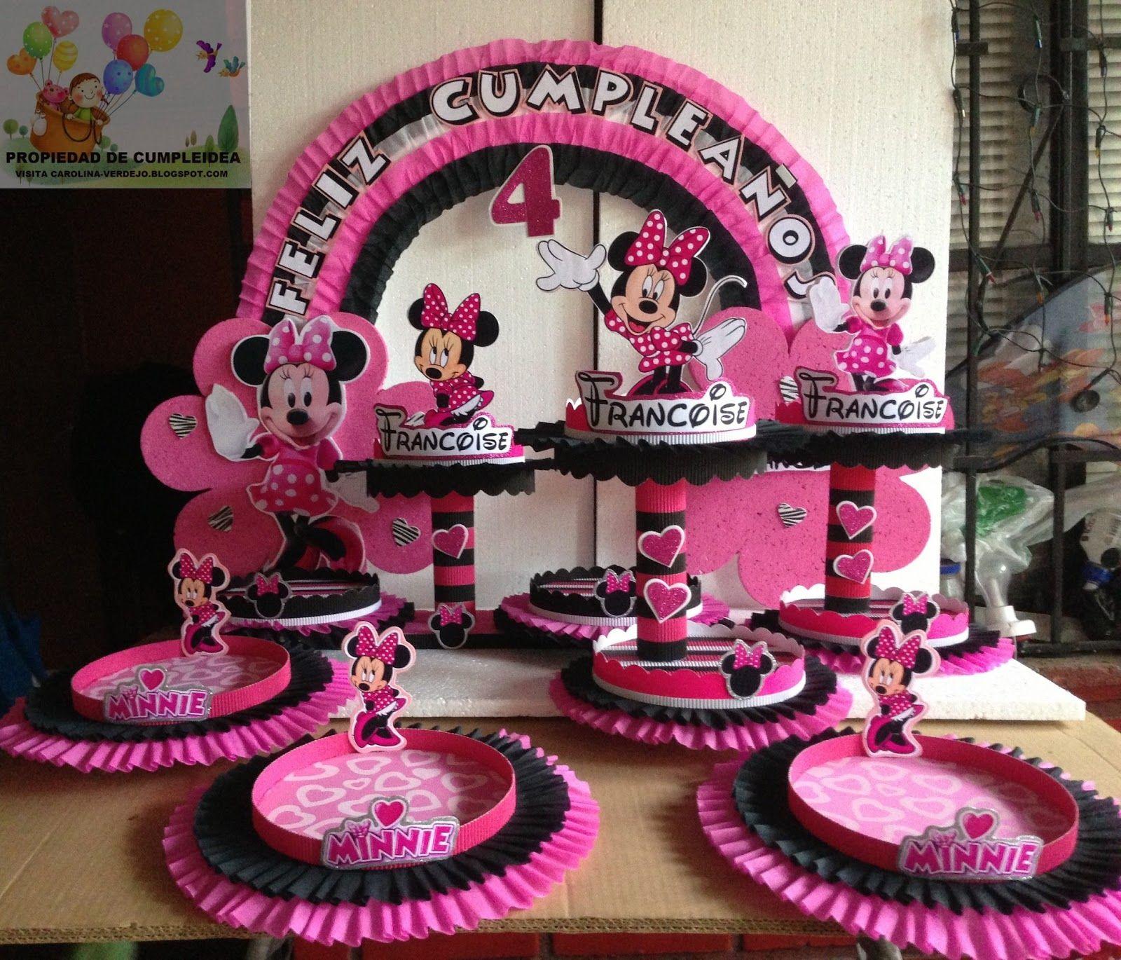 Minnie mouse para cumplea os decoracion buscar con - Cumpleanos minnie mouse ...