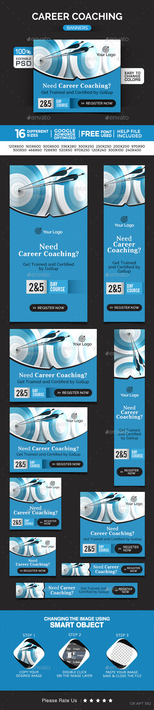 Career Coaching Banners