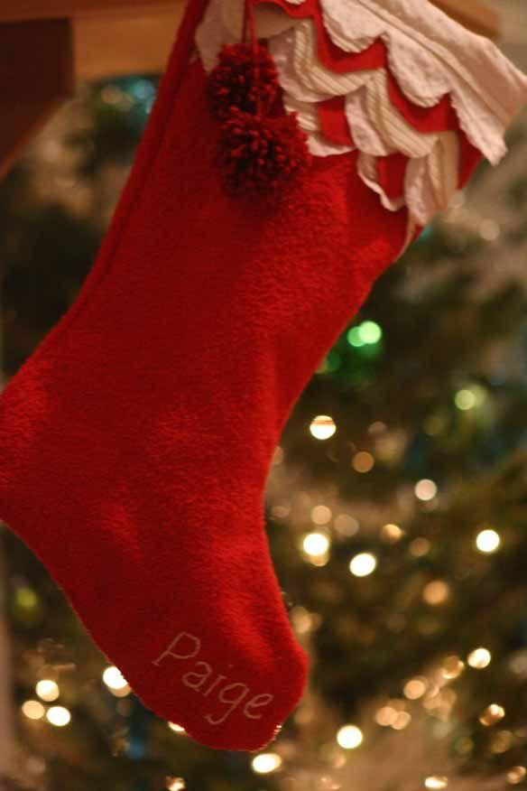Diy Christmas Stocking Lovely Indeed Christmas Stockings Diy Christmas Stocking Tutorial Christmas Stocking Pattern