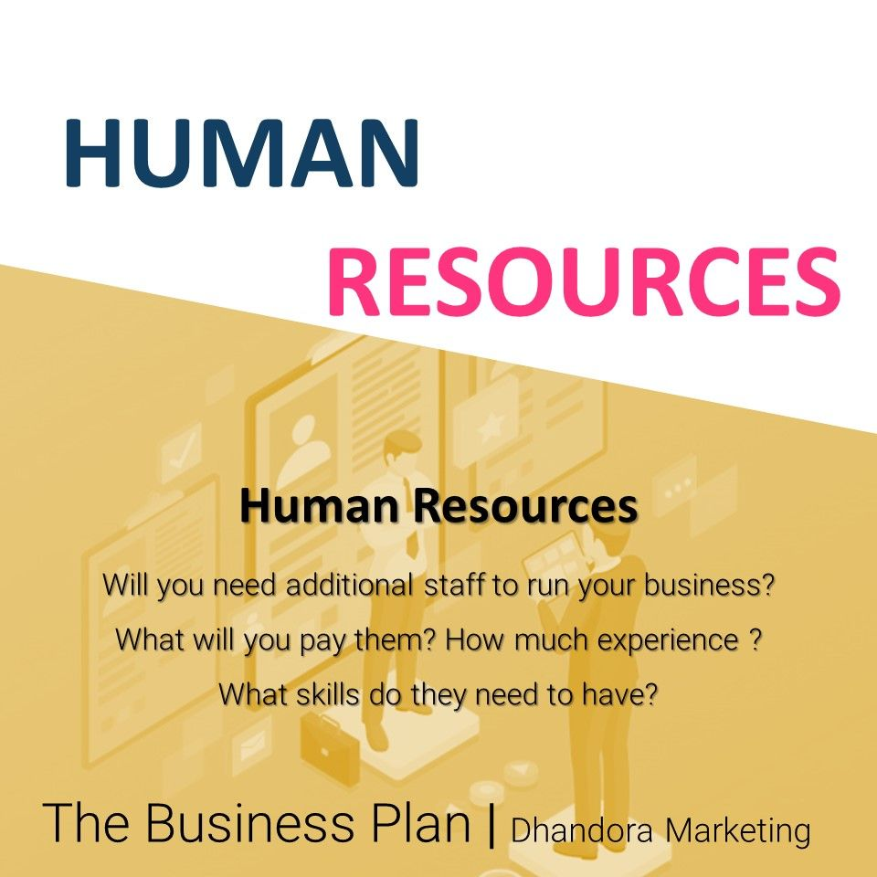 Will you need additional staff to run your business? What