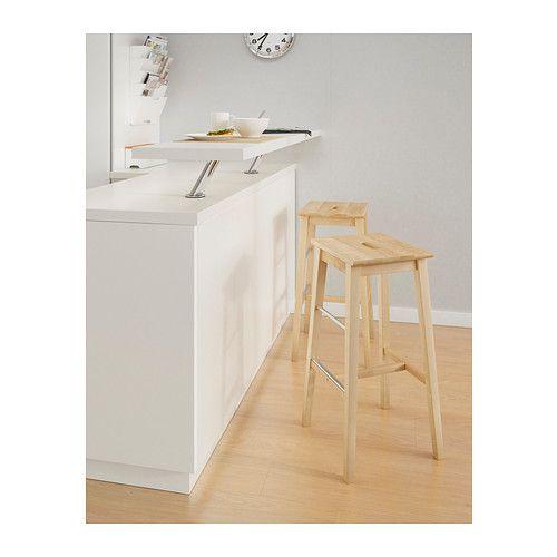 Bosse Bar Stool Birch Small Apartment Ideas Ikea