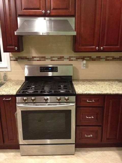 classic kitchen tiles classic kitchen cabinets with stainless steel appliances 2229