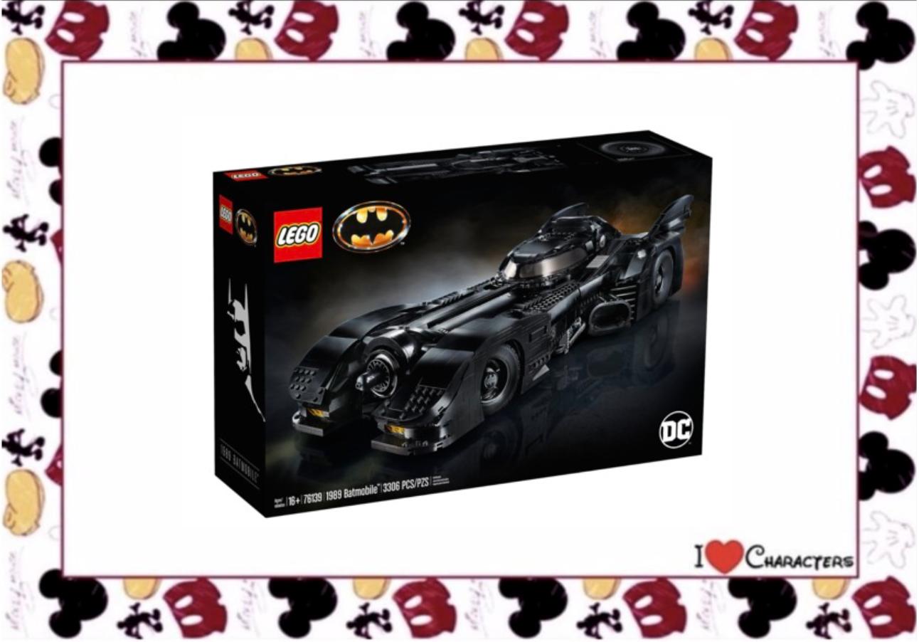 Lego Batmobile Batman Lego 76139 DC Superheroes 1989 Batmobile Batman Joker Vicki Vale Minifigure